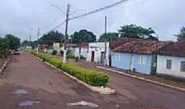 Caseara - Avenida em Caseara-TO-Foto:cbpcampos