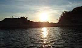 Caseara - Entardecer no Rio Araguaia em Caseara-TO-Foto:Scaravonati