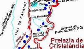 Caseara - Mapa