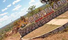 Centenário - Centenário-TO-Entrada da cidade-Foto:ELOI B C NETO