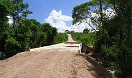 Chapada da Areia - Chapada da Areia-TO-Ponte na estrada da cidade-Foto:www.justocantins.com.br
