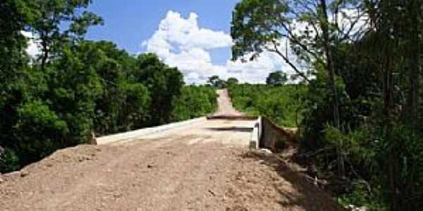 Chapada da Areia-TO-Ponte na estrada da cidade-Foto:www.justocantins.com.br