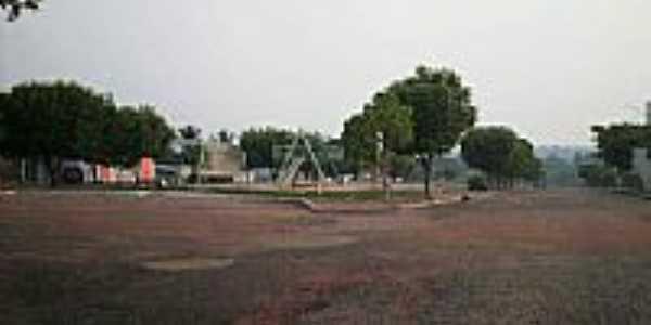 Praça e Av.Bernardo Sayão-Foto:alaorscorrea