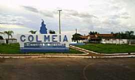 Colméia - Entrada da cidade-Foto:Jabez Soares