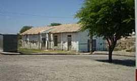 Salgadália - Antiga Estação Ferroviária de Salgadália-BA-Foto:Joquinha Bandiaçu