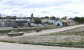 Salgadália - Praça da Estação em Salgadália, por Diquinho.