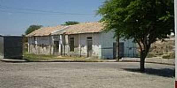 Antiga Estação Ferroviária de Salgadália-BA-Foto:Joquinha Bandiaçu
