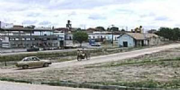 Praça da Estação em Salgadália, por Diquinho.