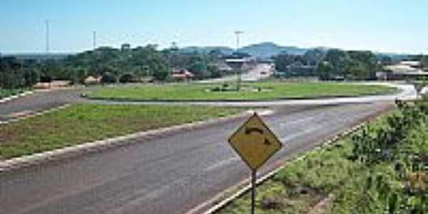 Trevo de Acesso de Conceição do Tocantins-TO-Foto:ckoonline.