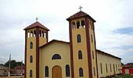 Darcinópolis - Matriz de Cristo Rei-Foto:Vicente A. Queiroz