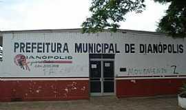 Dianópolis - Dianópolis-TO-Prefeitura Municipal-Foto:J. A. Valente Neto