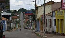 Dianópolis - Dianópolis-TO-Rua Benedito Póvoa-Foto:J. A. Valente Neto