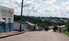 Dianópolis - Dianópolis-TO-Rua Coronel Abílio Wolney e parcial da cidade-Foto:J. A. Valente Neto