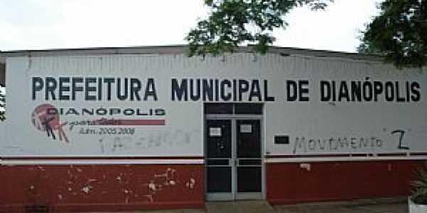 Dianópolis-TO-Prefeitura Municipal-Foto:J. A. Valente Neto