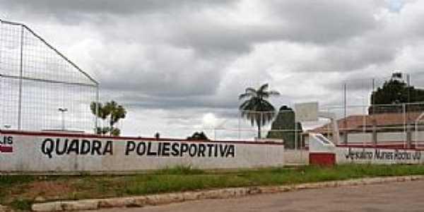 Dianópolis-TO-Quadra Poliesportiva-Foto:J. A. Valente Neto