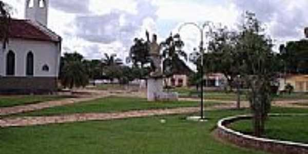 Praça de Figueirópolis por Pablo Morais Brito