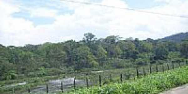 Rio Cachoeira em Salobrinho.