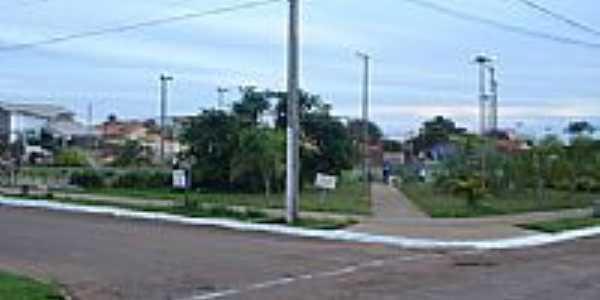 Praça da Av.11 de Abril em Guaraí-Foto:Lautenir