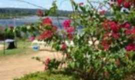 Itaguatins - Vista parcial da praia do tio Claro, Por Sônia Alves