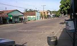 Jaú do Tocantins - Rua da cidade-Foto:RioPreto