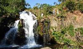 Lavandeira - Cachoeira do Bacupari em Lavandeira-TO-Foto:Dimas Justo
