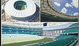 Salvador - Características da Arena Fonte Nova em Salvador-BA