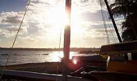 Salvador - Salvador-BA-Pôr do Sol em Itapoã-Foto:Peterson Cunha