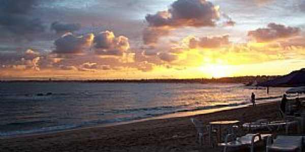 Salvador-BA-Pôr do Sol em Itapoã-Foto:Peterson Cunha
