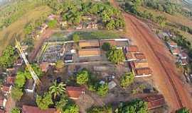 Maurilândia do Tocantins - Maurilândia do Tocantins-TO-Vista aérea da entrada da cidade-Foto:Tocnoticias Portal de Noticias