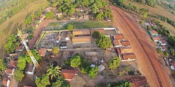 Maurilândia do Tocantins-TO-Vista aérea da entrada da cidade-Foto:Tocnoticias Portal de Noticias
