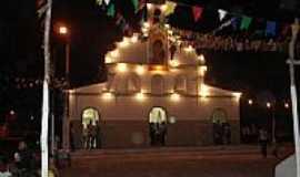 Sambaíba - Igreja Matriz de Sambaíba-BA-Foto:Waldecir Marrega
