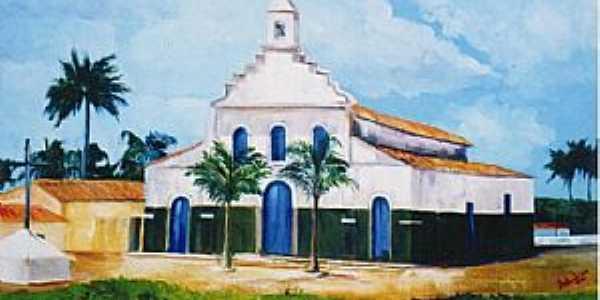 Imagens da cidade de Sambaíba - BA Obra de Luiz Carlos Ramos