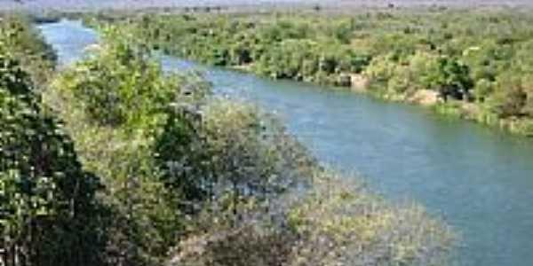Rio Corrente visto de Sambaíba-BA-Foto:Luciano Barros da Si…