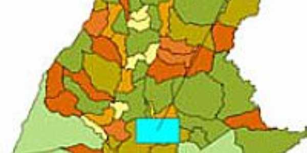 Mapa de Localização - Nova Olinda-TO