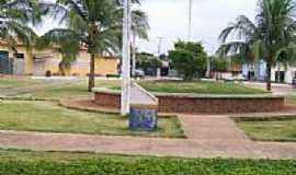 Novo Alegre - Praça-Foto:Dimas Justo