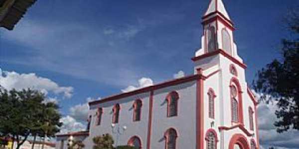 Santa Bárbara-BA- Matriz de Santo Antônio-Foto:Facebook
