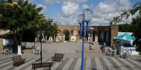 Santa Bárbara-BA-Praça da Matriz Matriz-Foto:bahianapolitica.