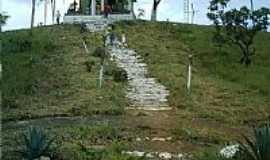 Paraíso do Tocantins - Paraiso do Tocantins-TO-Escadaria para a Capela da Serra do Estrondo-Foto:Cocheba