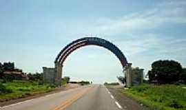 Paraíso do Tocantins - Portal de Entrada de Paraiso do Tocantins-Foto:JOSE WILSON