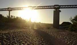 Pedro Afonso - Pedro Afonso-TO-Pôr do sol na ponte-Foto:giovanerm