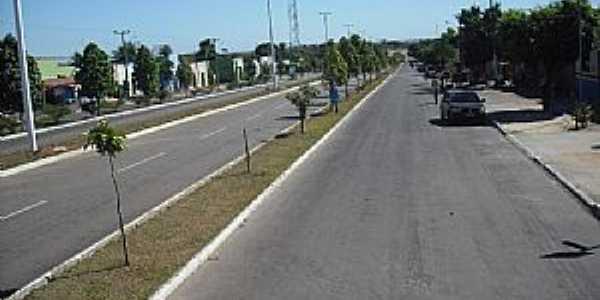 Pequizeiro-TO-Avenida Salgado Filho-Foto:Lenna Borges