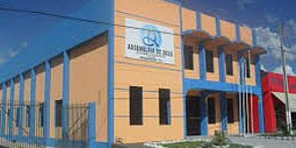 Pequizeiro-TO-Igreja da Assembléia de Deus-Foto:adpequizeiro.blogspot.com