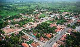 Pindorama do Tocantins - Pindorama do Tocantins-TO-Vista aérea da cidade-Foto:Gilvaney A. Castro