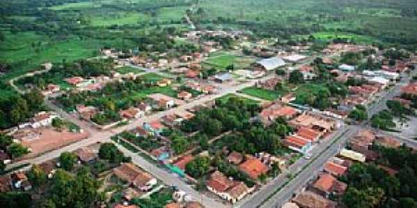 Pindorama do Tocantins-TO-Vista aérea da cidade-Foto:Gilvaney A. Castro