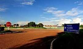Porto Alegre do Tocantins - Entrada da cidade de Porto Alegre do Tocantins-TO-Foto:Mauro Vieira