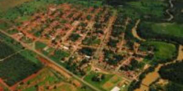 Visão aérea da cidade, Por ALANE MALKINE