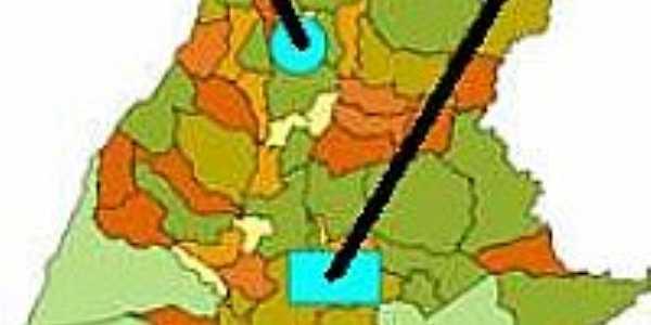 Mapa de Localização - Presidente Kennedy-TO