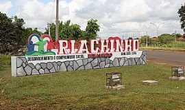 Riachinho - Riachinho-TO-Entrada da cidade-Foto:riachinho.to.gov.br