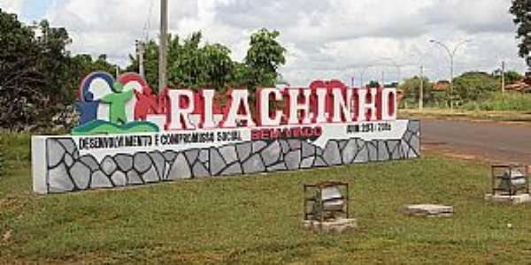 Riachinho-TO-Entrada da cidade-Foto:riachinho.to.gov.br