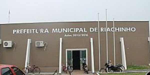 Riachinho-TO-Prefeitura Municipal-Foto:W.K.L.A INFORMATICA